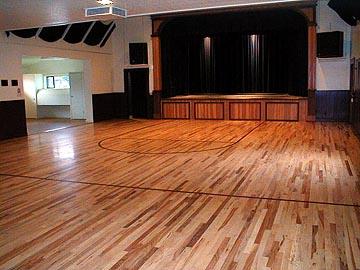 Greenwood Community Center - Del Wilcox Stage